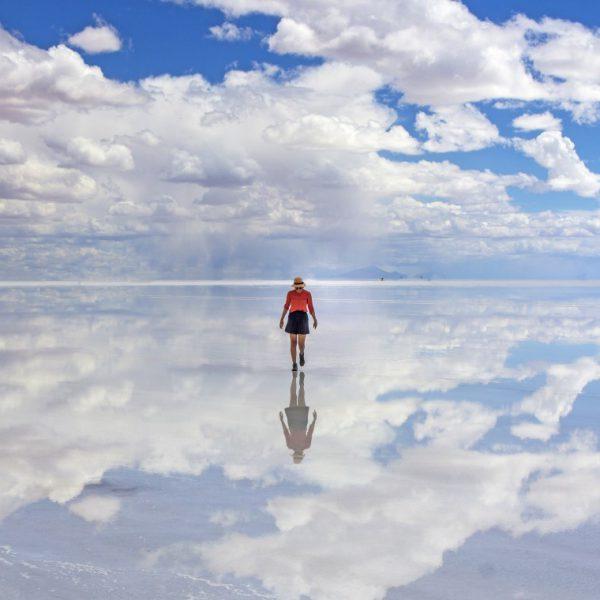 Deserto di sale Salar de Yuyni, Bolivia