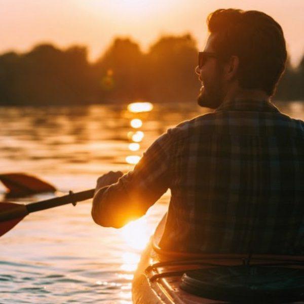 Kayak nel Tangalle Lagoon, Sri Lanka