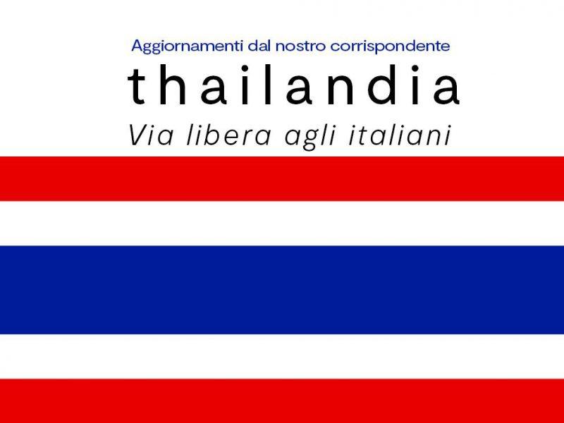 Thailandia Situazione Coronavirus